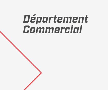Département Commercial