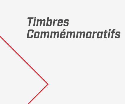 Timbres Commémmoratifs