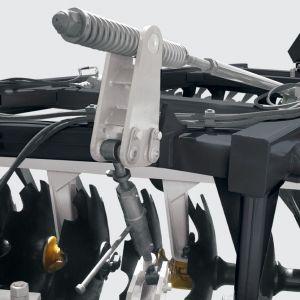 Regulator and stabilizer of transversal bar and wheel axle.