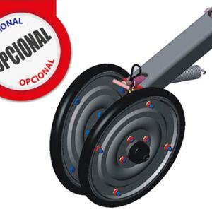 Optionnel: Compactor Wheel V.