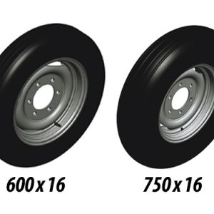 Rode 600 x 16 à 36 , 40 , 42, 44 des disques. Rode 750 x 16 à 48, 52 , 56 des disques.