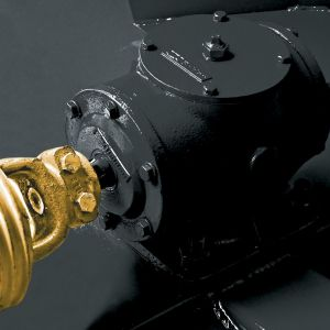Free-rotation gearbox designed for heat dissipation.