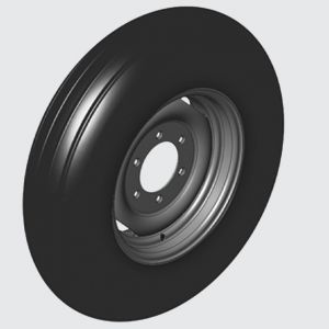 Tyre 7.50x16 standard. Model DCF-CO 3000 (single) and 6000 (dual)