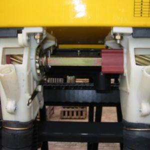 Rotor helicoidal de fluxo contínuo.
