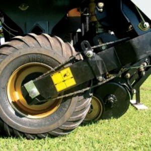 Sistemas de rodas articuladas através de balanceiros para acompanharem as irregularidades do terreno