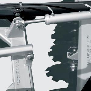 Hydraulic cilinder for raising