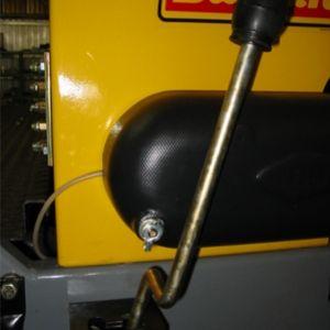 Sistema de arremate que permite trabalhar com apenas um lado da maquina.Disponivel apenas para o modelo 3000(Opcional).