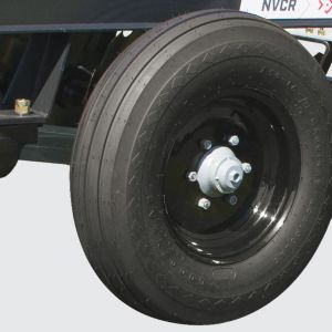 Sing tyre 600 x 16 (NVCR from 28 to 44 blades). Single tyre 7.50 x 16 (NVCR from 48 to 56 blades).