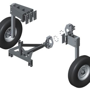 Opcional: Sistema de transporte lateral mecânico e semi-hidráulico