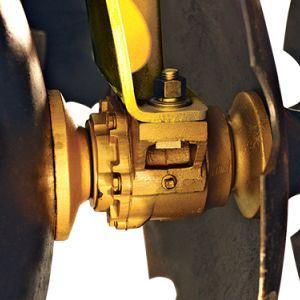 Roulements coniques graisse ou bain d'huile lubrifiés en permanence.